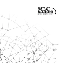 Abstract background network connect concept 002 vector