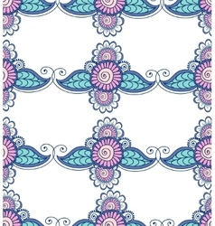 beautiful indian floral ornament can be used vector image