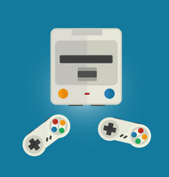 console for computer games vector image