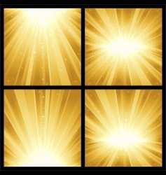 festive explosion of light and vector image vector image