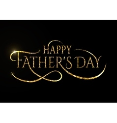 Happy fathers day wishes design background vector