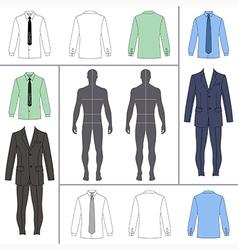 street fashion clothing 10 vector image