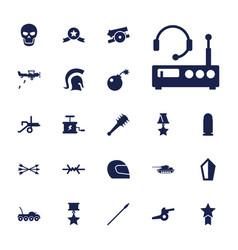 War icons vector