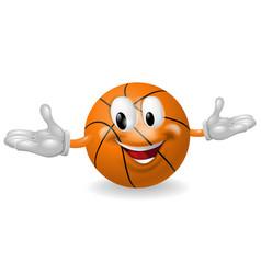 Basket ball man vector