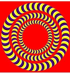 Rotation Optical vector image vector image