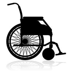 wheelchair 02 vector image vector image