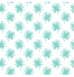 palm leaf brush seamless pattern vector image vector image