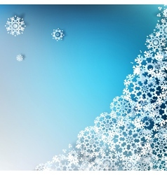 Christmas elegant blue background EPS 10 vector image