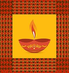 Diwali diya vector