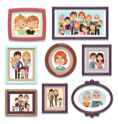 family portrait photos pictures people photo vector image