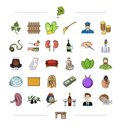 furniture business medicine and other web icon vector image