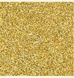 image of gold glitter textured background vector image