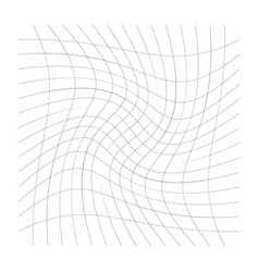 Pattern with rotation spiral swirl twirl effect vector