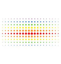 Peaks suit spectral halftone array vector