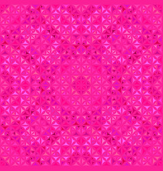 Pink abstract repeating curved shape kaleidoscope vector
