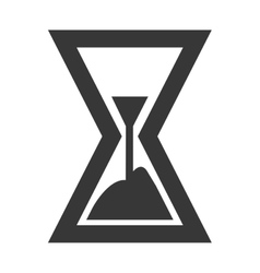 Time and clock isolated icon vector image