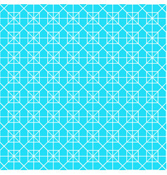 white octagon shape pattern background vector image