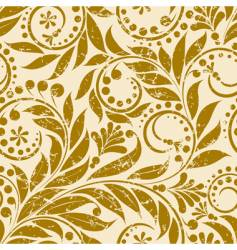 plant pattern vector image