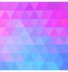 Colorful Bright Geometric Background vector image