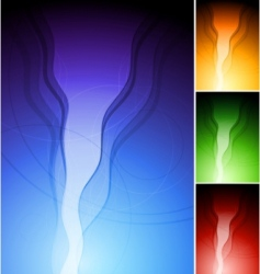 Colourful stylish backgrounds vector