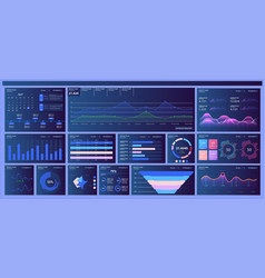 different ui ux gui mobile screens modern vector image