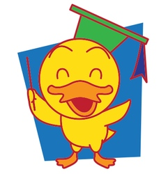 Mr Duck vector image
