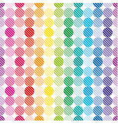 Rainbow dots wallpaper vector