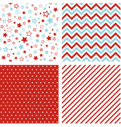 Seamless patterns christmas backgrounds vector