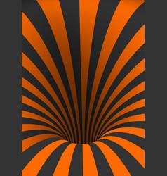Tunnel template spiral twisted vortex shape vector