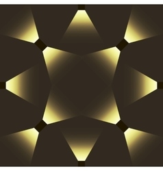 Seamless abstract pattern with light effect vector image