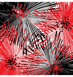vector abstract floral background vector image