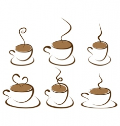 coffee3 vector image