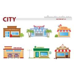 Public building Set 5 vector image