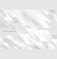 abstract modern shape white and gray geometric vector image