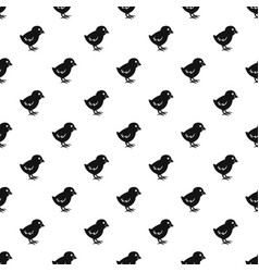 Chick pattern vector