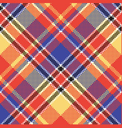Modern abstract madras plaid seamless pattern vector