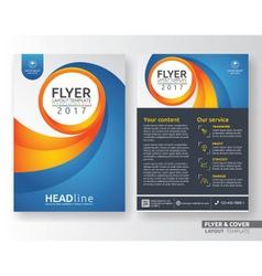 Multipurpose corporate business flyer template vector