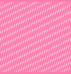 Pink pattern background with wavy diagonal lines vector