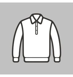 Polo jumper icon vector image vector image