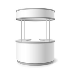 Trade stand vector image