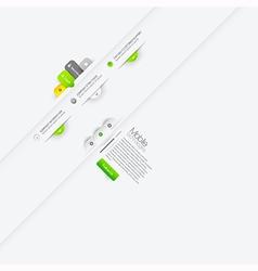 infographics design elements vector image vector image