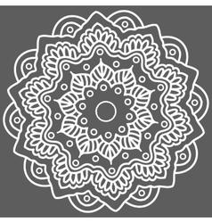 Mandala Hand drawn ethnic decorative element vector image vector image