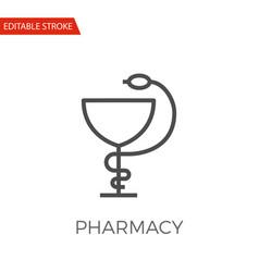 pharmacy icon vector image