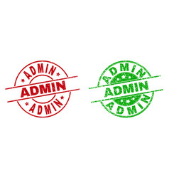 Admin round badges using unclean texture vector