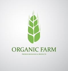 Agriculture symbol vector image vector image