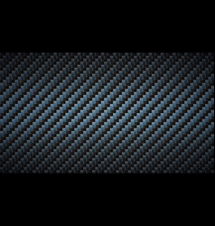 black carbon fiber texture dark metallic surface vector image