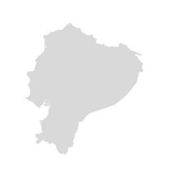 Ecuador map design vector