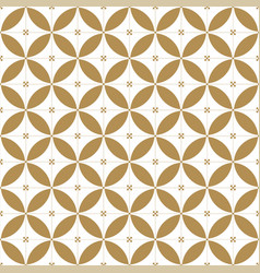 japanese seamless pattern gold geometric vector image
