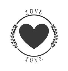 love pictogram vector image