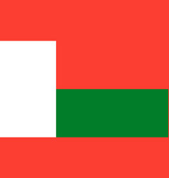 madagascar flag icon in flat style national sign vector image